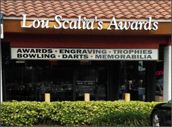 Lou Scalia's Awards, Davie Florida