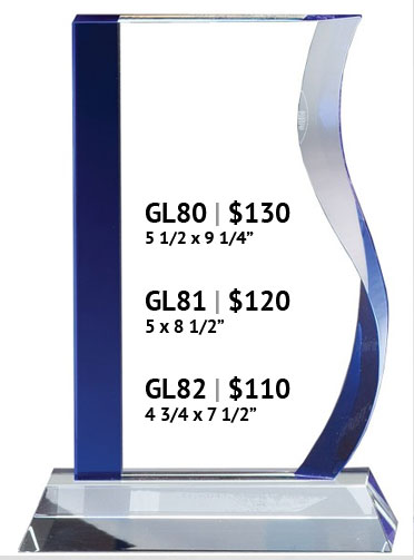 Crystal Award GL80 Series