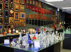 Lou Scalia's Awards Showroom
