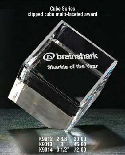 Clear Glass Award big