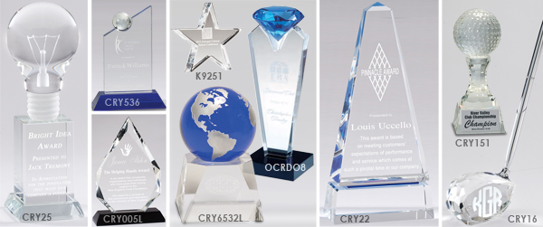 Recognizing & Rewarding Staff Members with Crystal Awards