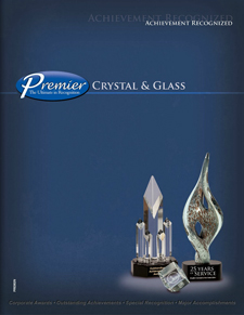 Premier Glass and Crystal Awards Brochure