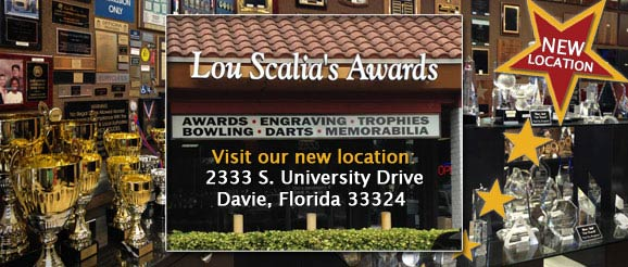 Lou Scalia's Awards Davie, FL trophy shop